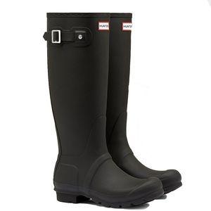 Hunter Original Tall Matte Black Boots
